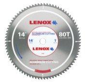 Rubbermaid Commercial 21892AL140080CT Lenox Metal Cutting Circular Saw Blades