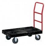 Rubbermaid Commercial 4436-10-BLA Platform Truck
