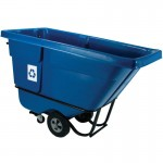 Rubbermaid Commercial 1305-73-BLUE Recycling Tilt Truck