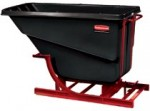 Rubbermaid Commercial 1064-BLA Self-Dumping Hopper