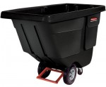 Rubbermaid Commercial 1025-BLA Tilt Truck