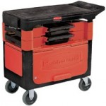 Rubbermaid Commercial 618088BLA Trades Cart