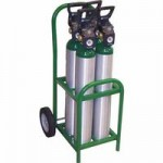 Saf-T-Cart MDE-4 Medical Series Cart