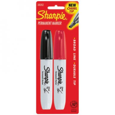 Sharpie 38262PP Chisel Point Permanent Markers