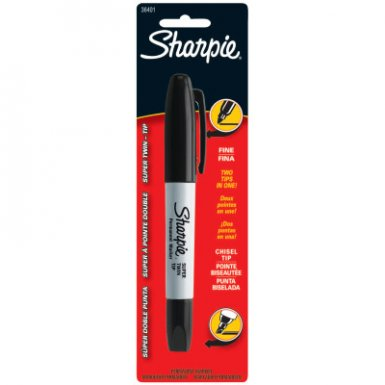 Sharpie 36401PP Super Twin Tip Permanent Markers