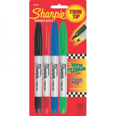 Sharpie 32174PP Twin Tip Permanent Markers