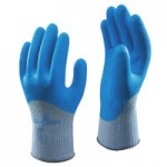 SHOWA 305XL-10 305 Latex Coated Gloves