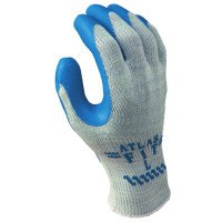 SHOWA 300S-07 Atlas Fit 300 Rubber-Coated Gloves