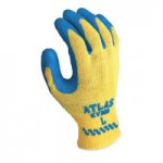 SHOWA KV300L-09 Atlas Rubber Palm-Coated Gloves