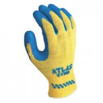 SHOWA KV300XL-10 Atlas Rubber Palm-Coated Gloves