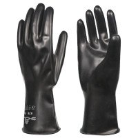 SHOWA 878-09 Butyl Chemical-Resistant Gloves