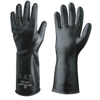 SHOWA 874-09 Butyl II Chemical-Resistant Gloves