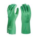 SHOWA 73106 Flocked Lined Nitrile Biodegradable Gloves