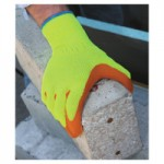 SHOWA 317S-07 Hi-Viz Latex Coated Gloves