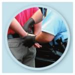 SHOWA 9700PFM N-DEX 9700 Series Disposable Nitrile Gloves