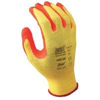 SHOWA 4567-10 Zorb-IT Ultimate HV Nitrile Palm Coated Work Gloves