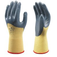 SHOWA 4565-09 Zorb-IT Ultra Nitrile Palm Coated Work Gloves