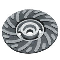 Spiralcool R500-5/8-SB Smooth Bore Backing Pads