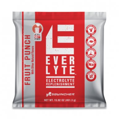 Sqwincher 159016872 EverLyte 2.5 gal Yield Powder Mixes