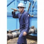 Stanco FRC681-NB-L Deluxe FR Full-Coverage Coveralls