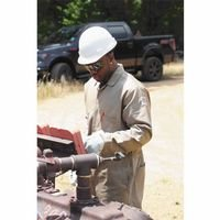 Stanco FRC681-TN-L Deluxe FR Full-Coverage Coveralls