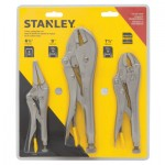 Stanley 94-960 3 pc Locking Plier Sets