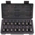 Stanley UH-1216CS Blackhawk 16 Piece Hex Bit Impact Socket Sets