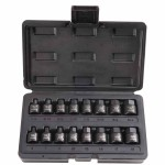 Stanley UH-3816CS Blackhawk 16 Piece Hex Bit Impact Socket Sets