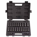 Stanley U-1627CDS Blackhawk 25 Piece Deep Impact Socket Sets