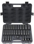Stanley UW-533CDS Blackhawk 33 Piece Deep Impact Socket Sets
