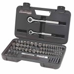 Stanley 97065 Blackhawk 64 Piece Standard & Metric Socket Sets