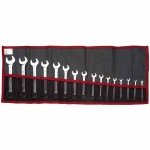 Stanley FM-39.JE16T Facom 16 Piece Short Combination Wrench Sets