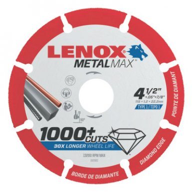 Stanley 1972930 Lenox MetalMax Cut-Off Wheels