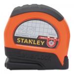 Stanley 20076174767418 Magnetic Tip & Fractional Read LeverLock Tape Measures