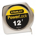 "Stanley 33-312 Powerlock Tape Rules 3/4"" Wide Blade"