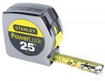"Stanley 33-425 Powerlock Tape Rules 1"" Wide Blade"