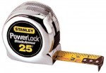 "Stanley 33-525 Powerlock Tape Rules 1"" Wide Blade w/BladeArmor"