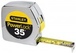 "Stanley 33-835 Powerlock Tape Rules 1"" Wide Blade"
