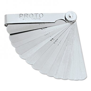 Stanley 00MM15 Proto 15 Blade Metric Feeler Gauge Sets
