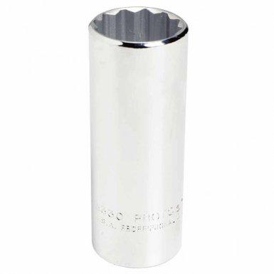 Stanley 5342 Proto Torqueplus Deep Sockets 1/2 in