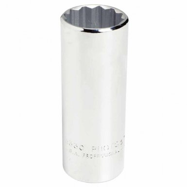 Stanley 5344 Proto Torqueplus Deep Sockets 1/2 in