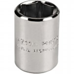 Stanley 47055TM Proto Torqueplus Metric Sockets 1/4 in