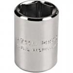 Stanley 4708TM Proto Torqueplus Metric Sockets 1/4 in