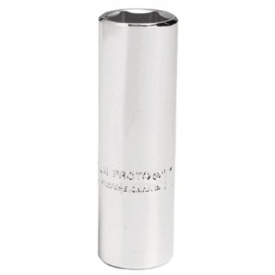 Stanley 4709LM Proto Torqueplus Metric Deep Sockets 1/4 in
