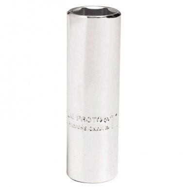 Stanley J4713LM Proto Torqueplus Metric Deep Sockets 1/4 in