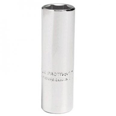 Stanley 4714LM Proto Torqueplus Metric Deep Sockets 1/4 in