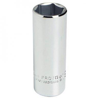 Stanley 5007M Proto Torqueplus Metric Deep Sockets 3/8 in