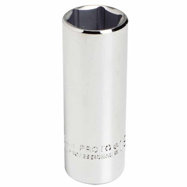 Stanley 5021MH Proto Torqueplus Metric Deep Sockets 3/8 in