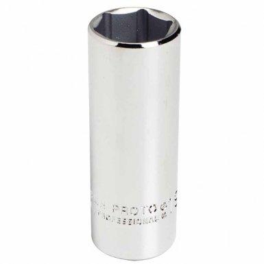 Stanley 5022MH Proto Torqueplus Metric Deep Sockets 3/8 in