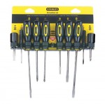 Stanley 60-100 Standard Fluted Screwdriver Sets
